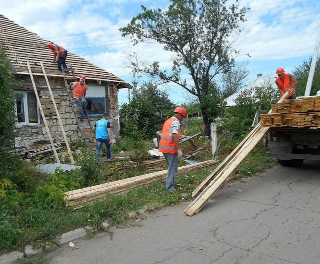 Восстановление жилья