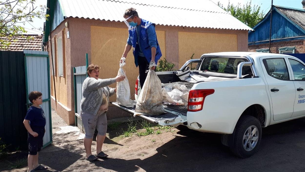 Ирина Хуторная переехала в Соледар из Гладосово в марте этого года