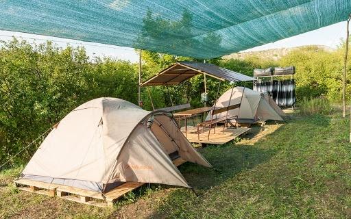 Кемпінг у селі Крива Лука