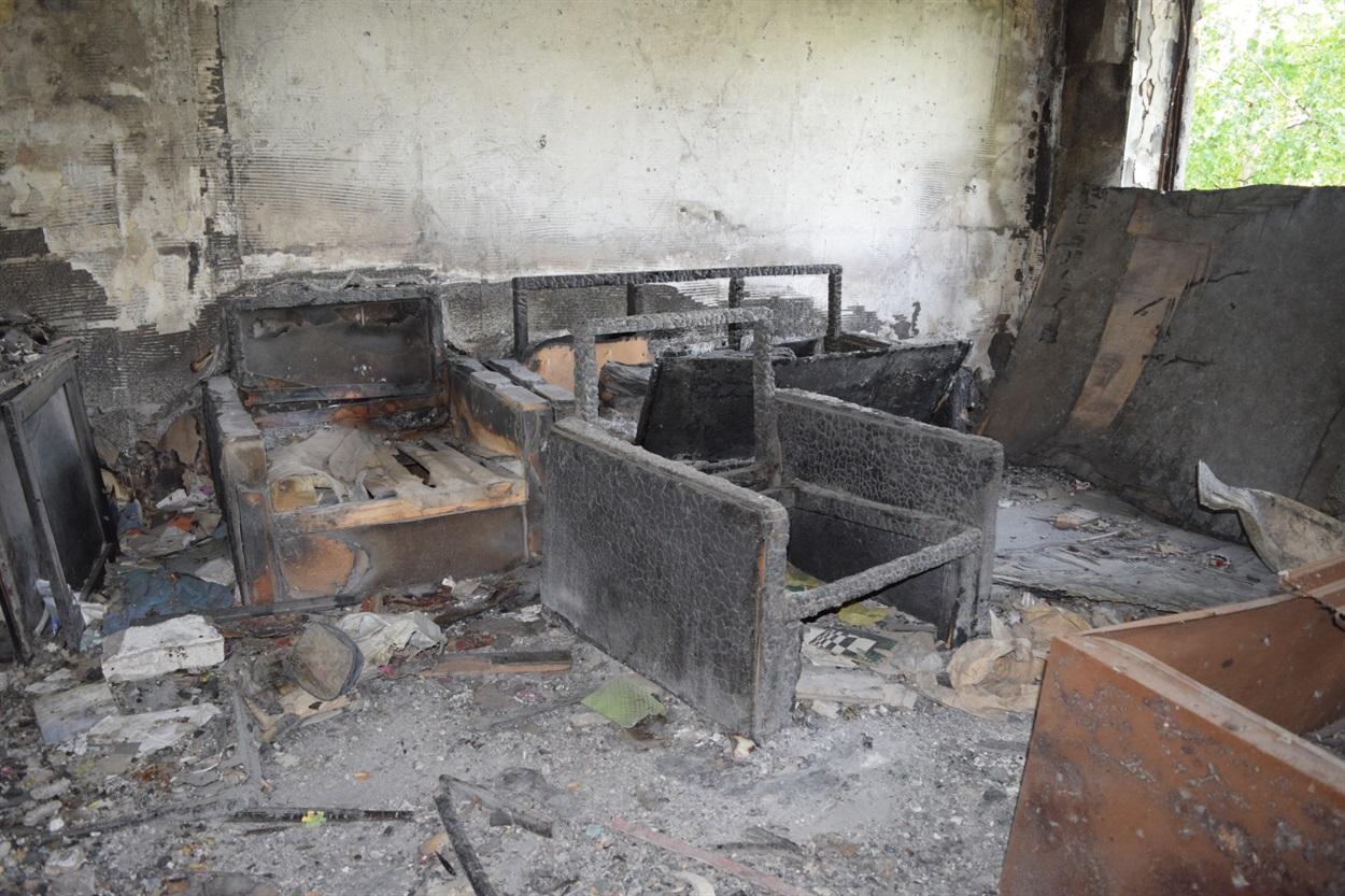 Дома многих жителей Красногоровки уже не подлежат восстановлению
