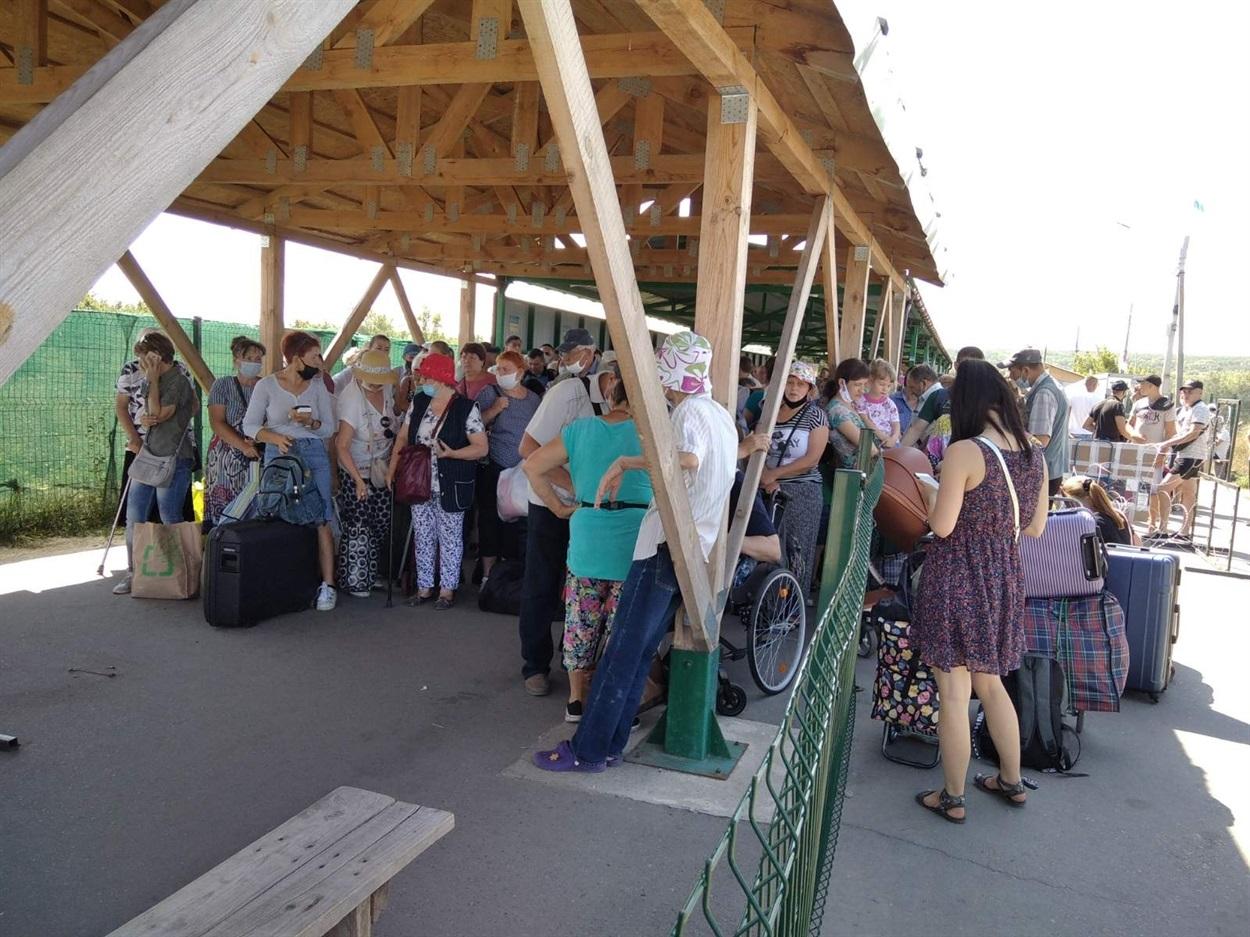 КПВВ в Станице Луганской