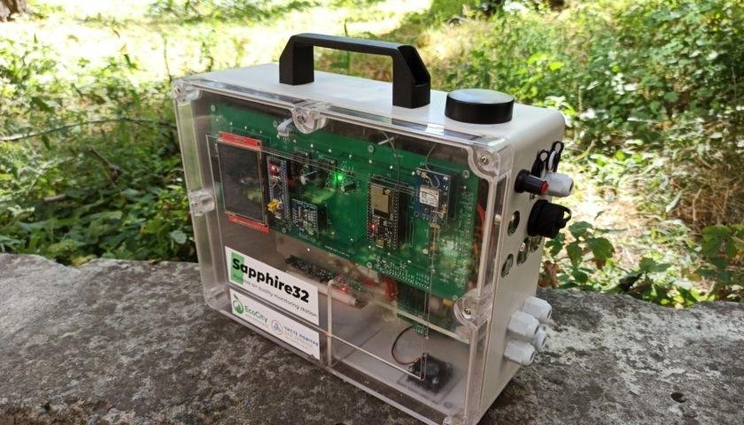 Vобильная станция мониторинга воздуха Sapphire-32